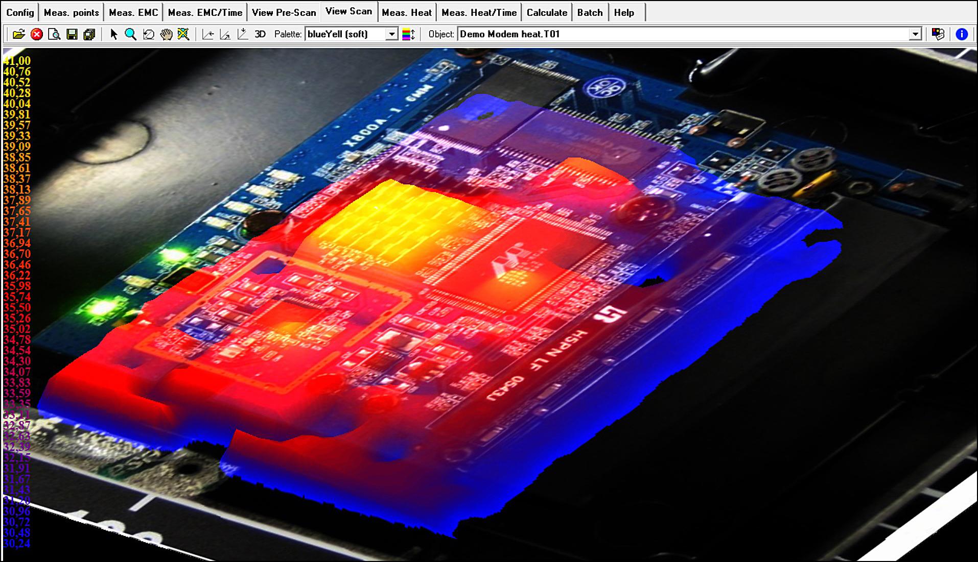 Labb i mikroformat cd rymmer hel process